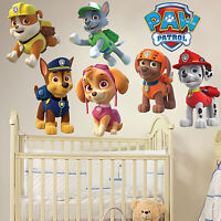Paw Patrol Wall Sticker Decal Kids Boy Girls Bedroom Wall Art Gift Window New