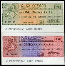 IST.BANCARIO SAN PAOLO TORINO 1976 ASS.COMMERCIANTI TORINO/PAPER MONEY FDS/UNC