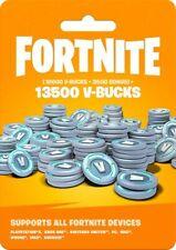 Fortnite 13500 V-Bucks Card For All Devices