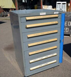 Equipto 7 Drawer Cabinet (Inv.42398)