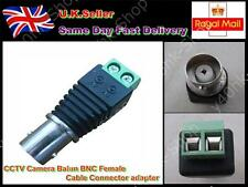 CCTV Camera TV Video Balun BNC Female Cable Connector Adapter