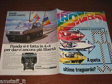 RIVISTA ROMBO 1983/38=MERCEDES 190 E=RINALDI MOTOCROSS=HONDA XL 200R/125 SD