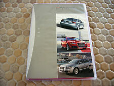 AUDI OFFICIAL A4 S4 (2005 MY) AND A3 (2006 MY) CD ROM PRESS KIT BROCHURE 2005