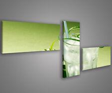 Quadri moderni mojito 180 x 70 stampe su tela canvas con telaio MIX-S_67