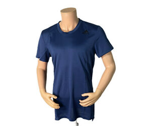 adidas HEAT.RDY Short Sleeve Mens Training Top - Blue (GL7299) Size Large