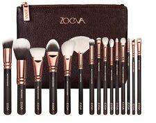 15PCS ZOEVA Rose Golden Makeup Cosmetic Complete Eye Set Powder Brushes Set+Case