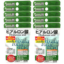 Daiso Japan Hyaluronic Acid 40 x 10 Tablets 200 Days Supplement Additive-free