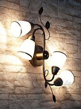 Klassische Deckenleuchte 6145 in Bronze Deckenlampe Lampe Jugendstil Lampen