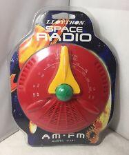Unusual Unused LLoytron Space Radio 1990's Retro Kitsch Collectable Model N721