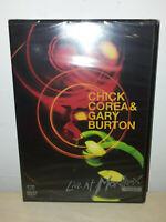 CHICK COREA - GARY BURTON - LIVE AT MONTREUX 1997 - DVD