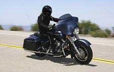 "Harley Davidson 6"" light tinted windshield Street glide/Electra glide 2014-2018"