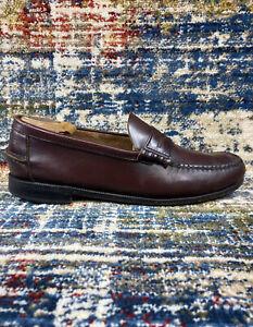 Florsheim FLS Shoes Berkley Penny Slip On Dress Burgundy 30253 Men's Size 10.5 E