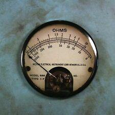 "Vintage Style Weston Gauge Fridge Magnet 2 1/4"" Steampunk Dieselpunk Ohm Meter"
