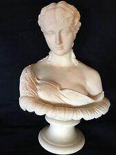 Rare Large Antique 1880 Parian Bust CLYTIE Worcester J Stephan Statue