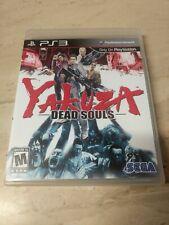 Yakuza Dead Souls PlayStation 3