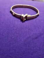 unisex Gold tone Stainless Steel Bracelet Bangle size 8