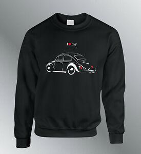 Sweat Shirt Cox Type 1 Auto Sweatshirt Pullover Ladybug Ladybird Beetle Line