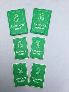 Nähmaschine 60 Nadeln von Lammertz Neu Alle Original