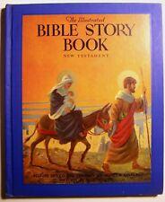 BIBLE STORY BOOK Seymour Loveland ILLUS Milo Winter HC 1943 New Testament - 5