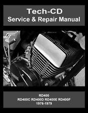 Yamaha RD400 Service & Repair Manual 1976 1977 1978 1979 RD400F Daytona Special