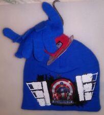 Marvel Boys 1 Size 2 Pc Set 1 Hat 1 Pr Gloves Captain America First Avenger A-21
