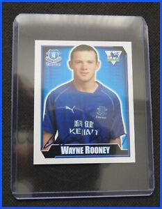 [61] ROOKIE FAPL Wayne Rooney Everton Merlin Premier League 02 / 03 Sticker EX