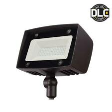 Outdoor Security Flood Led Light Waterproof Dark Bronze 5000 Lumen Dusk to Dawn