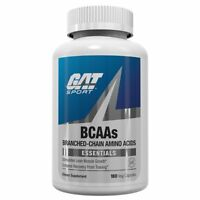 GAT BCAA Amino Acids RECOVERY, STRENGTH 180 capsules BUILD MUSCLE