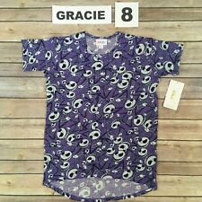 Size 8 Gracie Tee LuLaRoe Disney T-Shirt; Jack, Nbc, Nightmare Before Christmas