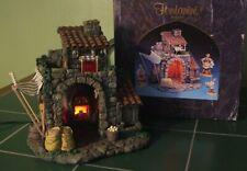 "1996 Fontanini ""Bakery"" Lighted Nativity Scene Building /w Box"