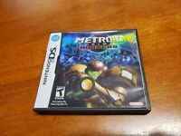 Metroid Prime: Hunters (Nintendo DS 2006) TESTED Fast Shipping Holocover