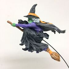 Dept 56 Airborne Witch Flying 800022 Halloween Village with Box Retired