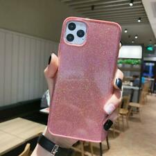 Anti-fall TPU Back Glitter Soft Protective Cover for iPhone 11 Pro Max 7 8 Plius