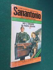 SANANTONIO n.129 HO L'ONORE DI FARVI FUORI Erre (1981) Libro inchieste polizia