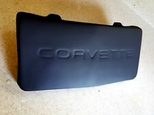 Primered ABS plastic C4 84-1990 Corvette Front License Plate Cover/Filler-New