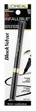 LOREAL Infallible Liquid Eyeliner CHOOSE eye liner bold sculpt black velvet