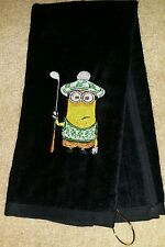 The Minions Dispicable Me Golf Towel