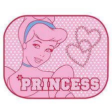 2 Disney Princess Pink Coche Ventana Lateral, Sunshades Malla Visera Bebé Niña E20