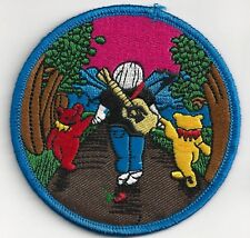 GRATEFUL DEAD - JERRY WITH BEARS - IRON ON or SEW ON PATCH