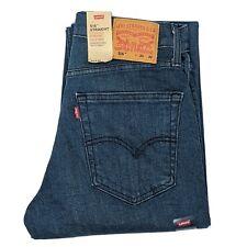 Levis 516 Mens W30 L32 Blue Jeans Straight Fit Stretch Denim Genuine 505160039