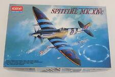 Academy 1/48 Spitfire MK. XIVc # 2157 Aircraft Plastic Model Kit