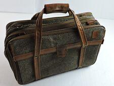 Hartmann Tweed Leather Trim Vintage Weekender Carry On Duffel Bag Expandable
