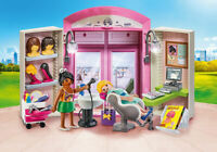 PLAYMOBIL #70109 Beauty Salon Play Box - New!