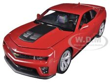 CHEVROLET CAMARO ZL1 RED 1:24 DIECAST MODEL CAR BY WELLY 24042