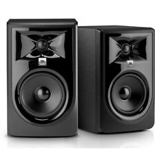 "JBL 305P MkII Powered 5"" 2-Way Bi-Amped Studio Reference Monitor Speaker PAIR"