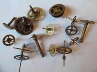15 pcs Vintage Brass Clock Wheels 4 SteamPunk Art Lot# G112