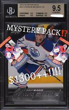 CONNOR MCDAVID YOUNG GUNS BGS 9.5 *MYSTERY PACK* $1300+ VALUE (READ)