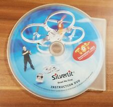 CD Silverlit X-UFO Instruction DVD Read me first
