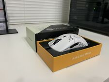 GLORIOUS MODEL O MATTE WHITE MOUSE! IMMACULATE CONDITION! CLEANED & REPACKAGED!