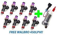 INJECTOR DYNAMICS ID1050x Fuel Injectors LS1 LS6 Corvette 97-04 + WALBRO 450